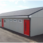 Commercial temporary building