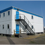 Temporary site offices